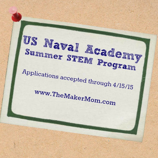 Stem School Program: US Naval Academy Summer STEM